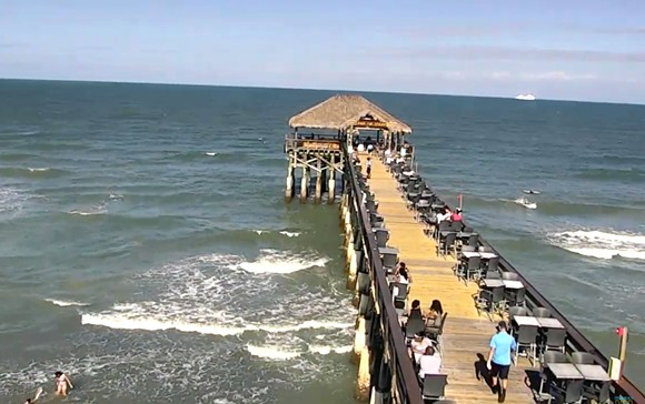 Cocoa Beach Pier Live Webcam